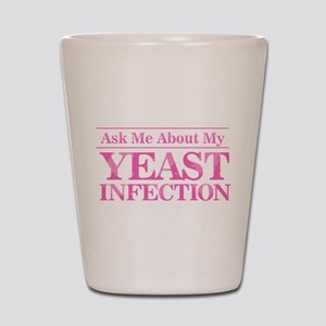 Yeast Infection Shot Glass