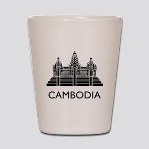Cambodia Angkor Wat Shot Glass