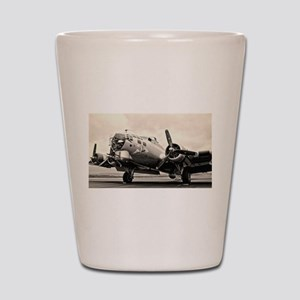B-17 Bomber Aircraft Shot Glass
