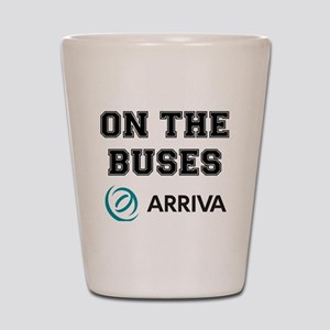 ON THE BUSES - ARRIVA Shot Glass