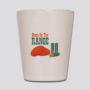 Home On The Range Shot Glass