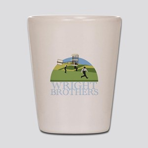 Wright Brothers Shot Glass