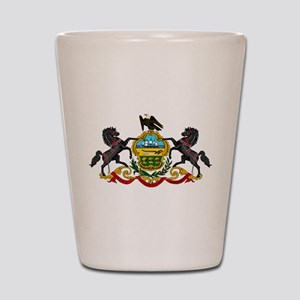 COA of Pennsylvania Shot Glass