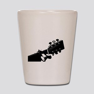 Guitarist Shot Glass