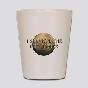 Dune - I survived the Gom Jabbar Shot Glass
