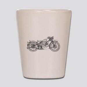 1935 Motorcycle Shot Glass