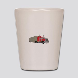 Livestock Truck Shot Glass