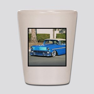 Classic Blue Car Shot Glass