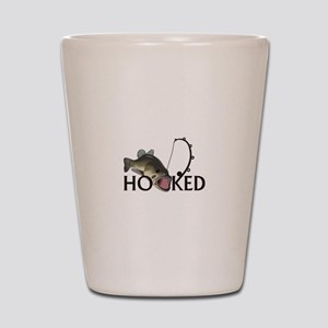 HOOKED Shot Glass