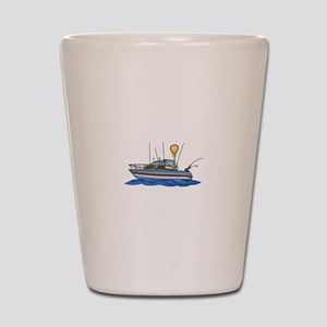 Fishing Boat Shot Glass