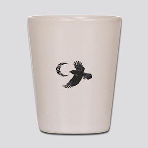 RAVEN AND MOON Shot Glass