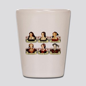 Six Wives Of Henry VIII Shot Glass