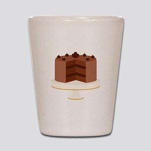 Chocolate Cake Dessert Shot Glass