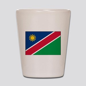 Namibia - National Flag - Current Shot Glass