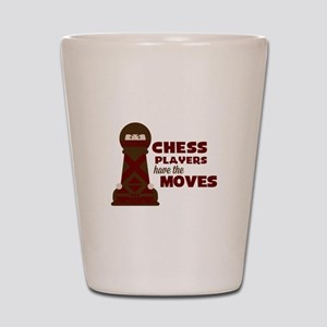 Chess Players Shot Glass