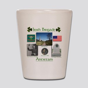 Irish Brigade at Antietam Shot Glass