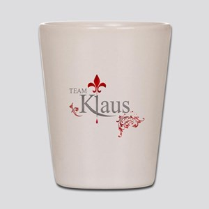 TVD Team KLAUS silver red Shot Glass