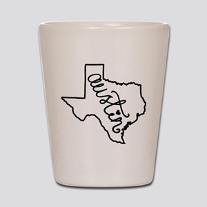 Austin Texas Shot Glass