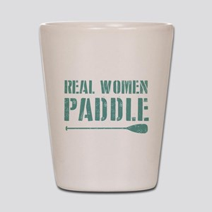 Real Women Paddle Shot Glass