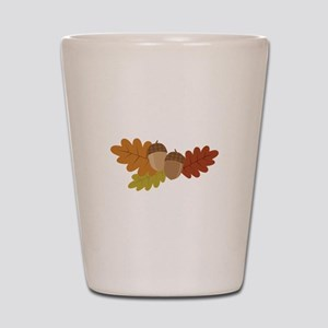 Acorn Leaves Shot Glass