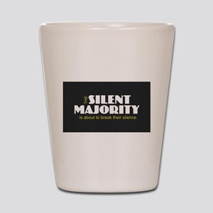 Silent Majority Shot Glass