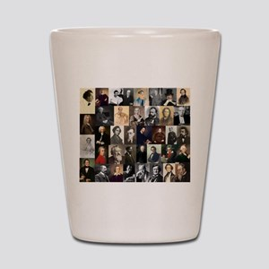 Composers Collage Shot Glass