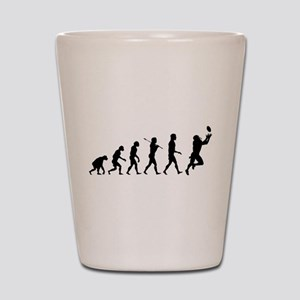 Evolution of Football Shot Glass