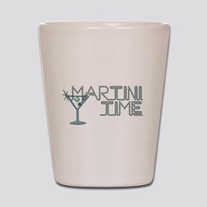 Martini Time Retro Lounge Shot Glass