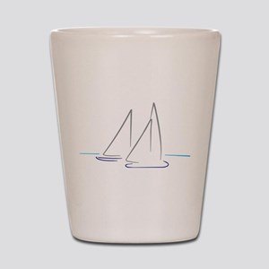 sailing Shot Glass