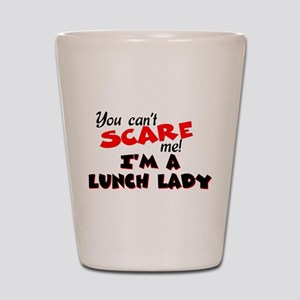 Lunch Lady Shot Glass