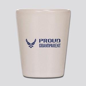 USAF: Proud Grandparent Shot Glass