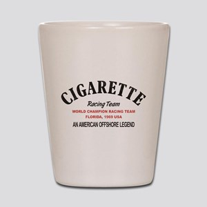 Cigarette racing team Shot Glass