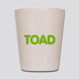 Toad Shot Glass