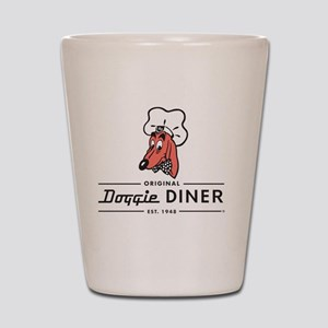 Doggie Diner restaurant logo Shot Glass