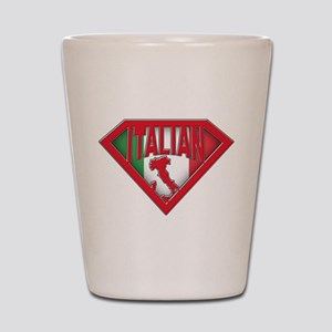 Italian superman Shot Glass