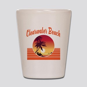 Clearwater Beach Florida Shot Glass