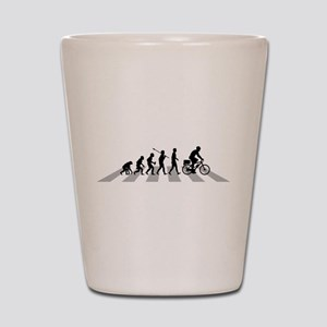 Bicycle Police Shot Glass