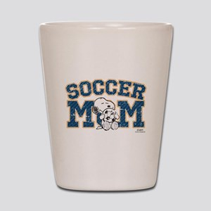 Snoopy Soccer Mom Shot Glass