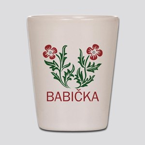 Babicka Shot Glass