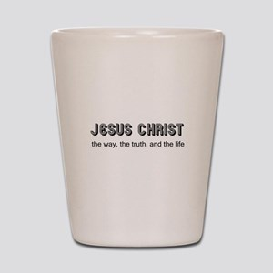 Jesus is the Way Shot Glass