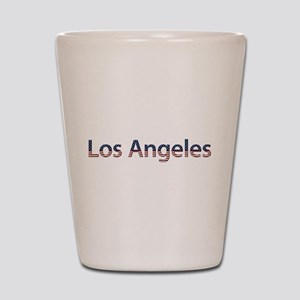 Los Angeles Stars and Stripes Shot Glass