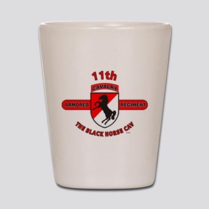 11TH ARMORED CAVALRY REGIMENT Shot Glass