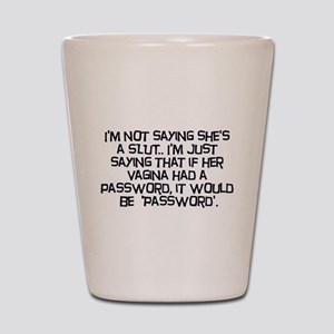 Password Shot Glass