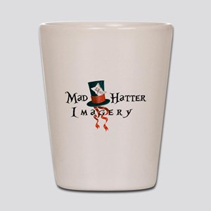 Mad Hatter Imagery Shot Glass