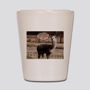 Red Ryder Drama Llama Shot Glass