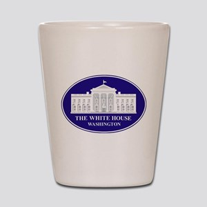 Emblem - The White House Shot Glass