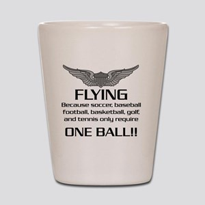 Flying-USArmy Shot Glass