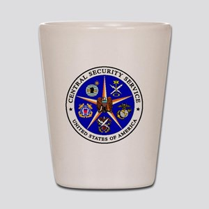 US FEDERAL AGENCY - CIA - CENTRAL SECUR Shot Glass