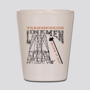 transmission tower Shot Glass