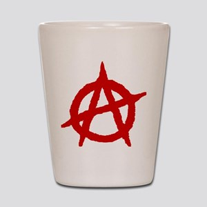 Anarchist 1 (red) Shot Glass